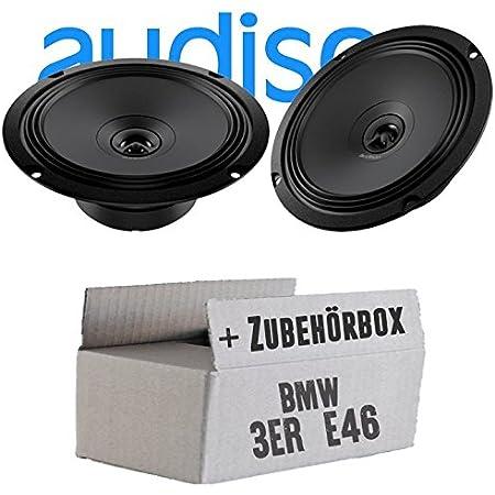 Hertz Dcx 165 3 16cm Koax Lautsprecher Einbauset Für Bmw 3er E46 Just Sound Best Choice For Caraudio Navigation