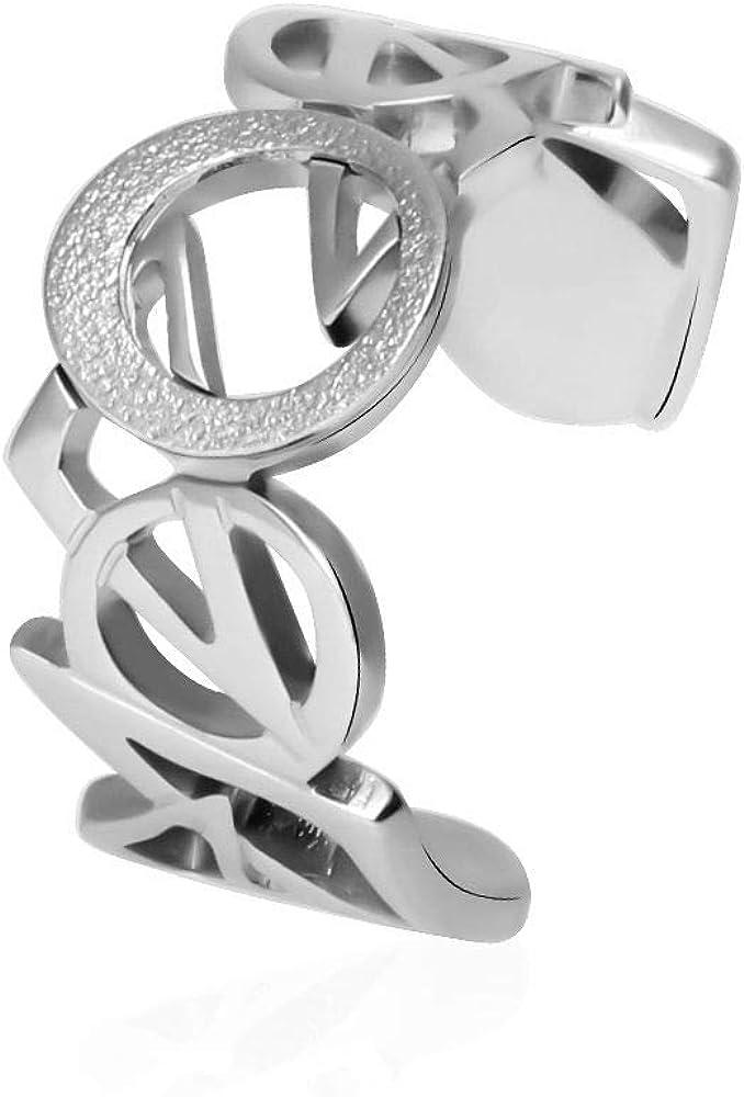 L`anello da donna stroili fa parte della collezione lol, è realizzato in acciaio inossidabile 1664505