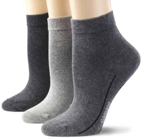 Camano Unisex - Erwachsene Socken 3-er Pack,3023, Grau (grey combination 49), 39/42