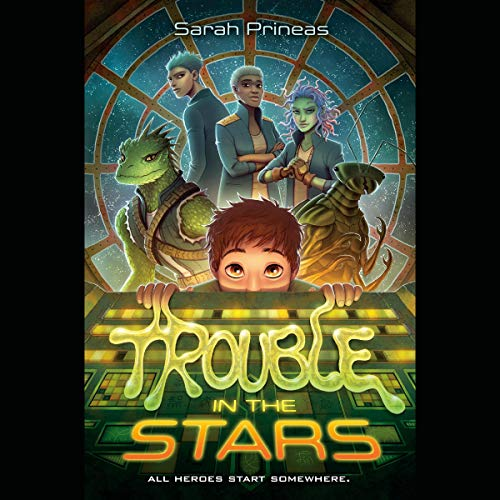 Trouble in the Stars  By  cover art
