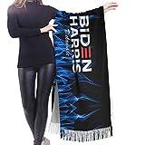 wupinpai Sciarpa con frange in cashmere Delare Harris 2020 Sciarpa invernale extra large da donna
