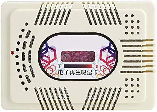 Atyhao Mini deshumidificador, Mini deshumidificador de Tarjeta a Prueba de Humedad Deshumidificador eléctrico Reutilizable Mini deshumidificadores renovables para armarios de baño