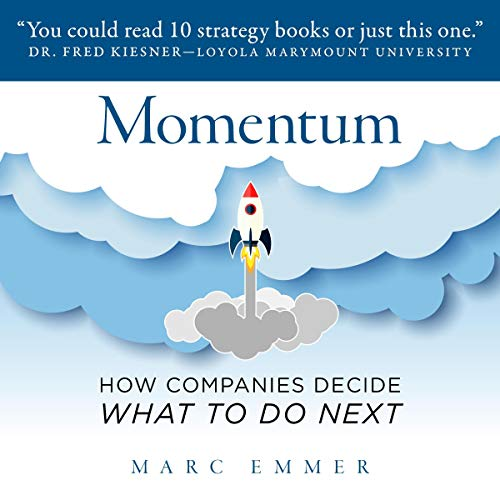 Momentum: How Companies Decide What to Do Next audiobook cover art