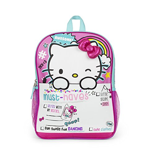 Hello Kitty Weekend Must Haves! 16' inch School Bag Backpack
