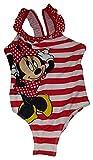 Girls Disney Minnie Mouse One Piece Swimsuit - Medium Red