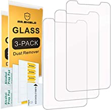 [3-Pack]-Mr.Shield for iPhone Xs Max [Tempered Glass] Screen Protector [Japan Glass with 9H Hardness] with Lifetime Replacement