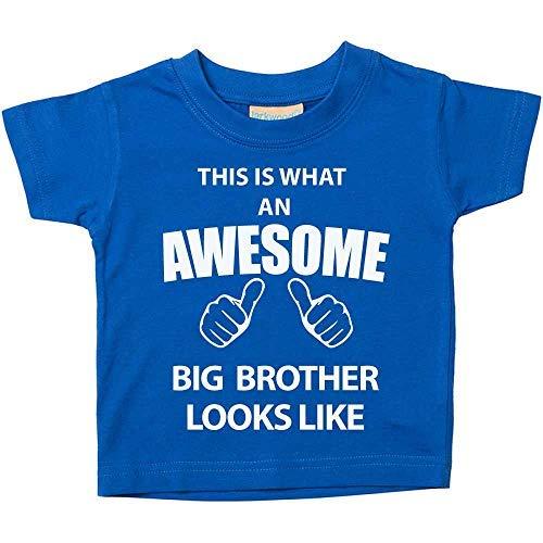 C'est ce qu'un Awesome Big Brother Looks Like Bleu pour Bébé Enfant disponible en tailles 0-6mois à 14-15ans nouveau bébé cadeau Sister - Bleu, 18-24 Months
