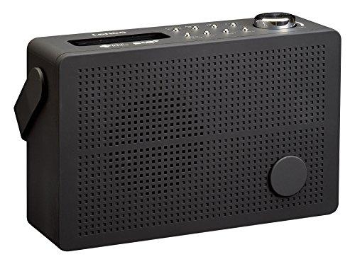 Lenco DAB + Digitalradio/UKW Radio PDR-030 Tragbar mit Akku, RDS-Anzeige, Senderspeicher, Wecker-Funktion, Kopfhörer-Anschluss, Teleskopantenne, schwarz