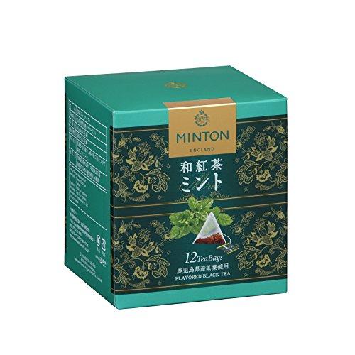 ミントン 和紅茶 ミント 12p×3箱
