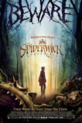 Spiderwick Chronicles Original 27 X 40 Theatrical Movie Poster