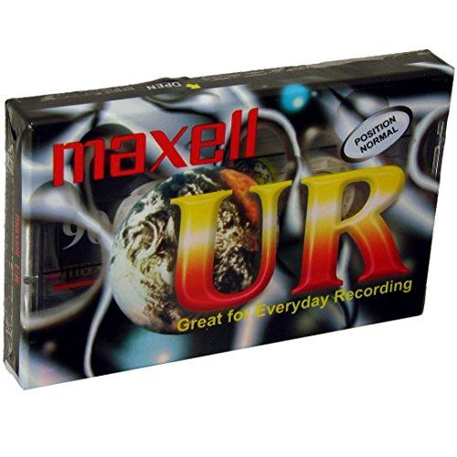 Maxell Audio-Kassetten UR 90 (digital cassette, 90 Min, 1er Pack)