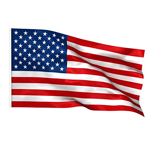 TRIXES American Flag - Large USA Flag - Stars and Stripes - 5ft x 3ft -...