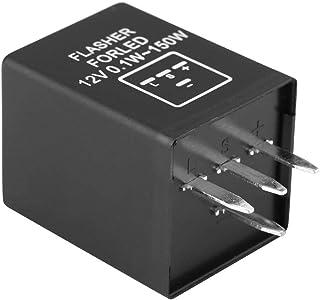 Decodificador de relé intermitente intermitente de 4 pines EP29 de relé de luz de señal de giro para LED Luz de señal de giro 12V