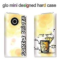glo mini用ハードケース【ANA-Lyn】カクテル スクリュードライバー 完全国内受注生産品 glo mini オリジナル グローミニカバー ケース