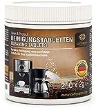 Coffeeano 250 Reinigungstabletten für Kaffeevollautomaten und Kaffeemaschinen Clean&Protect....