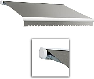 Awntech 24 ft. Key West Full Cassette Manual Retractable Awning (120 in. Projection) Gray