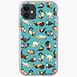 Pattern Ferret Patterns Cute Ferrets I Fancy - Phone Case for All of iPhone 12, iPhone 11, iPhone 11 Pro, iPhone 7/8 / 10 /SE 2020… Samsung Galaxy I Customize