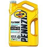 Pennzoil Platinum Full Synthetic 5W-30 Motor Oil (5-Quart, Single)