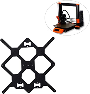 FYSETC 3D Printer Prusa i3 MK3 Aluminum Y Carriage, Cloned Original Plate Bottom Y-axis for Reprap Prusa i3 DIY Frame Heated Bed Support Parts