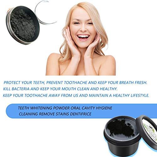 Blanqueamiento de dientes en polvo cavidad oral Higiene Limpieza Retire Té, café manchas dentales Producto dentífrica antibacteriana Halitosis