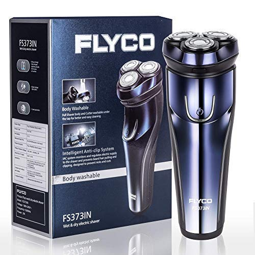 FLYCO 3D Rotary Electric Shaver Wet and Dry Rechargeable...