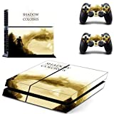 Playstation 4 Skin Set - SHADOW OF THE COLOSSUS HD Printing Vinyl Skin Cover Protective for PS4 Console and 2 PS4 Controller by Mr Wonderful Skin