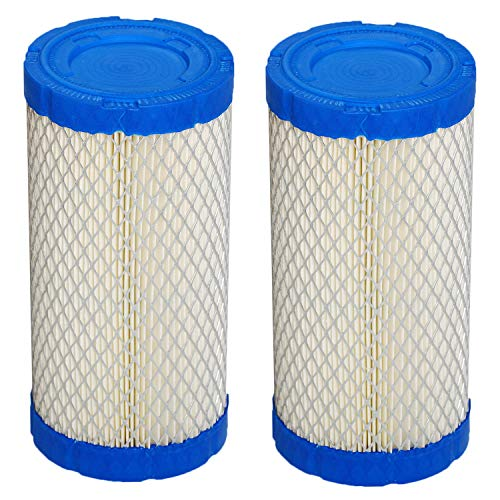 HIFROM Air Filter Compatible with Kubota BX1800 BX1830 BX1860 BX22 BX2200 BX2230 BX23 BX2350 BX24 BX25 BX2660 ZD18 Z482 Z602 K1211-82320 K2581-82310 Lawn Mower Air Cleaner (Pack of 2) -  HI5095x2