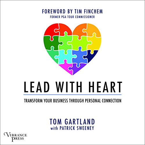 Lead with Heart audiobook cover art