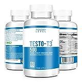 TESTO-T3 500 - HARDCORE BOOSTER - Extrem Hochdosiert - Testo-T3 KUR mit hochwirksamen Wirkstoffen -...