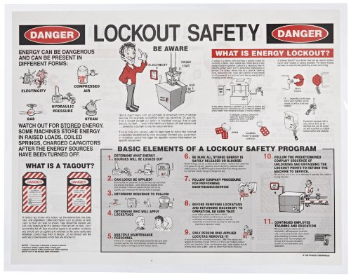Brady 2112x Individual Lockout Safety Training Booklet (1 Booklet)