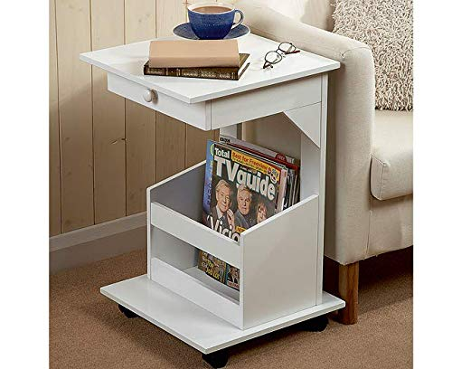 Jack In The Box Magazine Book Table/Coffee Table with Drawer and Storage