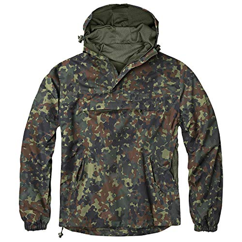 BW-ONLINE-SHOP Summer Windbreaker Flecktarn - M