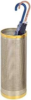 Yxsd Umbrella Stand Tubular Metal Sides Perforated, Walking Stick Holder - Dry Faster and Stainless Steel Rims (Color : A)