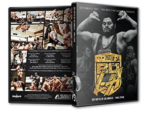 Official Pro Wrestling Guerrilla PWG - Battle of Los Angeles BOLA 2017 Final Stage Event Blu-Ray