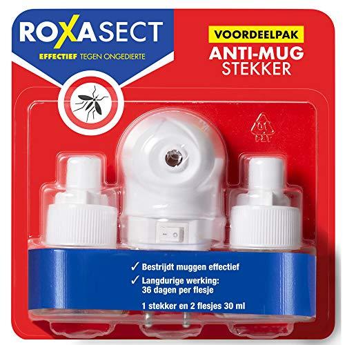 Roxasect Anti Mug Stekker Actieverpakking 2 Navulverpakking