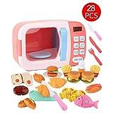 kingpo Juguetes de vajilla de microondas, Juego de simulación de Cocina Realista, Juego de Cocina para el hogar Educativo Educativo para niños