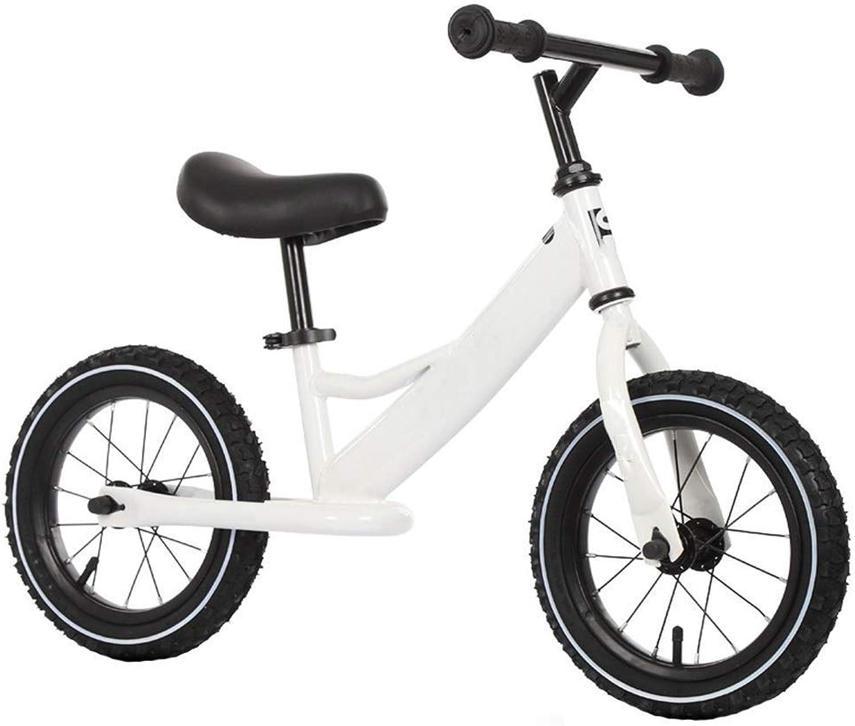 buen precio Bicicleta Sin Pedales Ultraligera Balance Bike, Bike, Bike, Bicicleta para Niños pequeños, Regalo de cumpleaños para niñas y Niños, 12  Bicicleta de entrenamiento liviana para 2-8 años de edad, Coche con tobogán  liquidación hasta el 70%