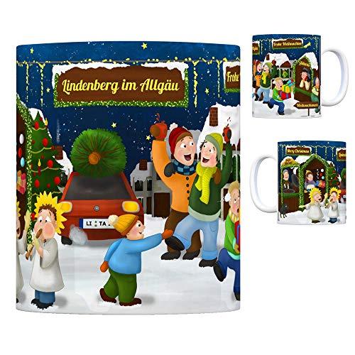 trendaffe - Lindenberg im Allgäu Weihnachtsmarkt Kaffeebecher