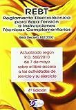 Reglamento electrotecnico para baja tension e instrucciones tecnicas