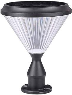 ZHCWT Solar Column Headlight ,Garden Décor Patio Door Light Outdoor Garden LED Column Light Garden Lawn Solar Street Light