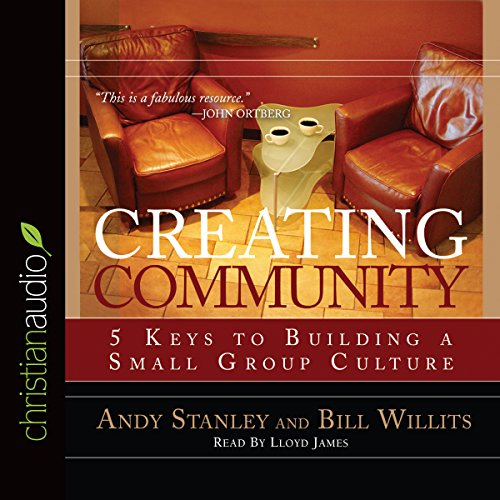 Creating Community audiobook cover art