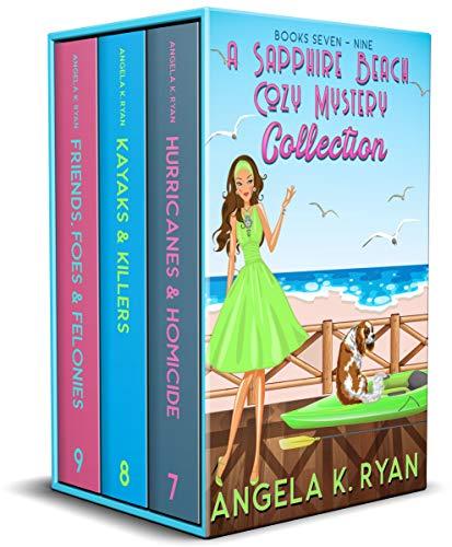 A Sapphire Beach Cozy Mystery Collection: Volume 3, Books 7-9 (Sapphire Beach Cozy Mysteries) by [Angela K. Ryan]