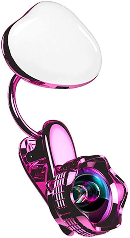 AFDK Cellulare Lens Fill Light Anchor Bellezza Trasmissione dal vivo Autoritratto autotone animato Telefono cellulare Riempire la luce Effetto greangolare Senza distorsione Obiettivo 20X Hd Macro,Ro