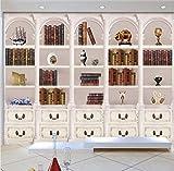 Rureng Papel Tapiz 3D Europeo Retro Hd Elegante Noble Aristocrático Blanco Fondo De Pared Mural Centro Comercial Tienda Dormitorio Papel Tapiz-150X120Cm