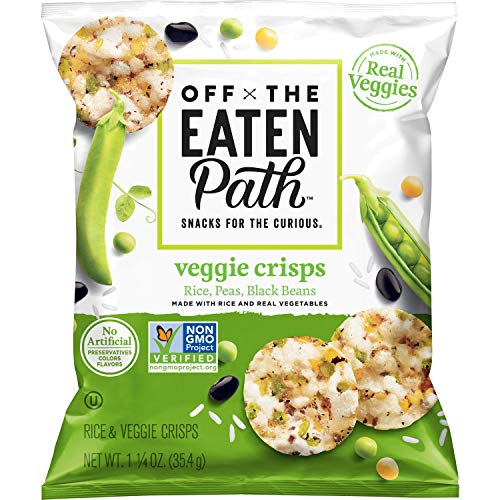 Off The Eaten Path Veggie Crisps, 1.25 oz (Pack of 16)
