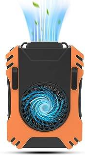 携帯扇風機 Ranbow 【2021最新版】 首かけ 腰掛け LEDライト付き 軽量 5000mAh 両手解放 USB充電式 せんぷうき扇風機 長時間動作 暑さ対策 熱中症 静音 電池式 ミニ 腰ベルトファン