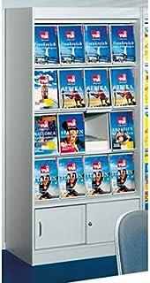 kerkmann 3794Potence Tren Kit pour étagère, 2hauteurs de classeur, verre