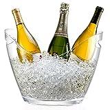 Générique Seau à Champagne 3 Bouteilles - pour Champagne, Seau à Glace -...
