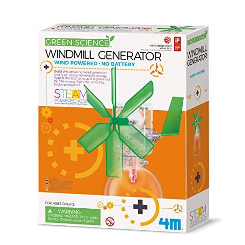 4M-3649 Kit generatore di Mulino a Vento (l'imballaggio può variare), Colori Assortiti, 1 EA, 00-03267