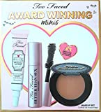 Too Faced Award Winning Minis Makeup Set of 3 Minis: Hangover Face Primer, Better Than Sex Mascara and Chocolate Bronzer